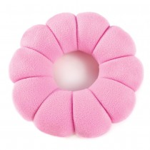 PINK POSY TRAVEL PILLOW