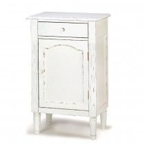 GRACEFUL ANTIQUED CABINET