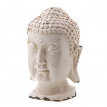 TABLE TOP BUDDHA HEAD DECOR